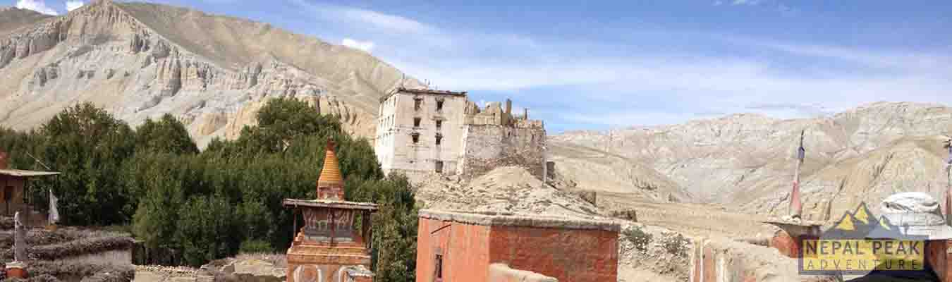 Short Upper Mustang Trek -12 days